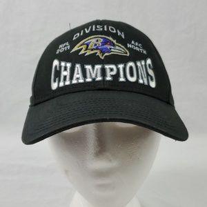 NFL Baltimore Ravens Baseball Hat/Black (523)